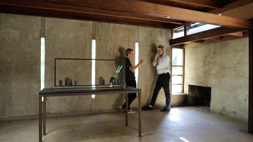 Edmund de Waal and Simon Fisher Turner: Tapping the World