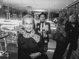 Doris Ammann, black-and-white photo