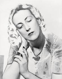 Black-and-white photograph of Marie-Laure de Noailles in 1936 by Man Ray.
