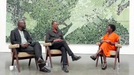 "Still from ""In Conversation: David Adjaye, Rick Lowe, and Thelma Golden"""