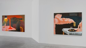 Installation view, Louise Bonnet: The Hours, Gagosian, Park & 75