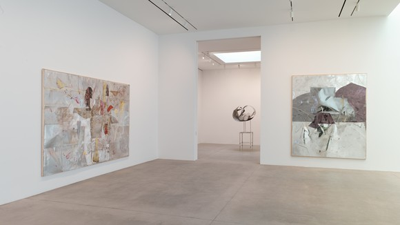Installation view of work by Rudolf Polanszky at Gagosian, 541 West 24th Street, New York, March 3–April 11, 2020.