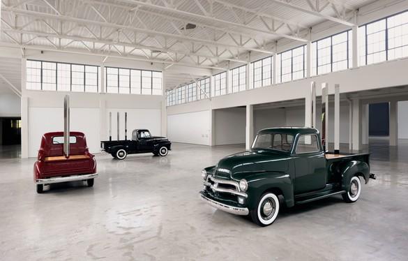 Installation view, Walter De Maria: Truck Trilogy, Dia:Beacon, New York, September 22, 2017–summer 2019