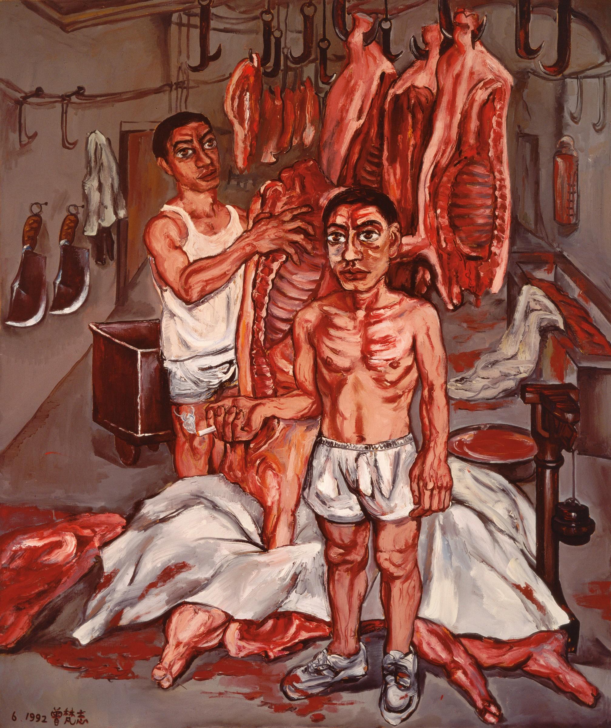 Zeng Fanzhi The Early Years Gagosian Quarterly